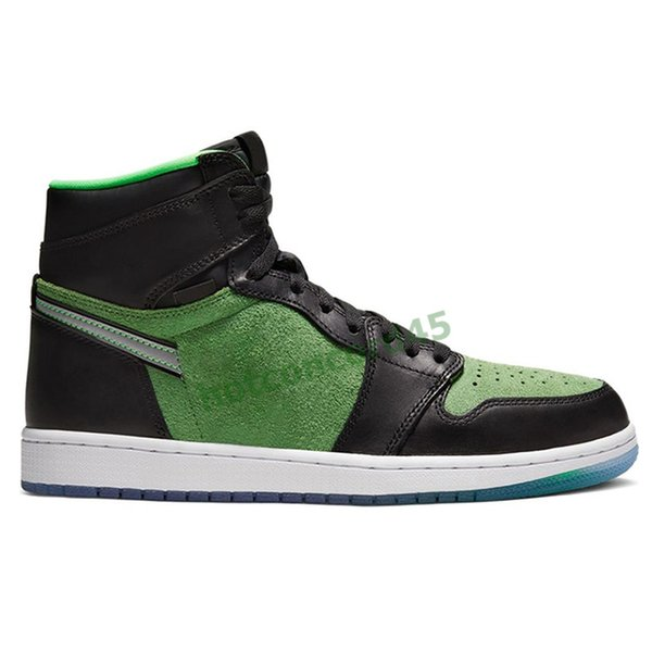 3 High Zoom Black Green