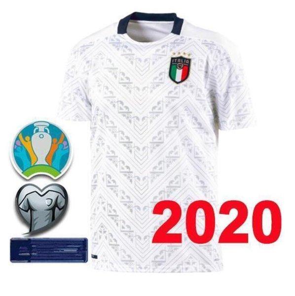 2020 20 21 Italy Soccer Jersey VERRATTI INSIGNE Football ...