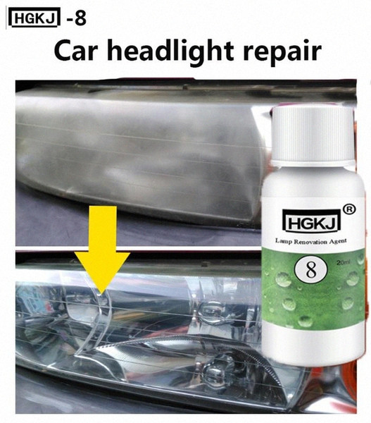 top popular HGKJ-8 Car Headlight Cleaning Maintenance Car Accessories polishing headlight Bright white Refurbishment Maintenance 3Pxk# 2021