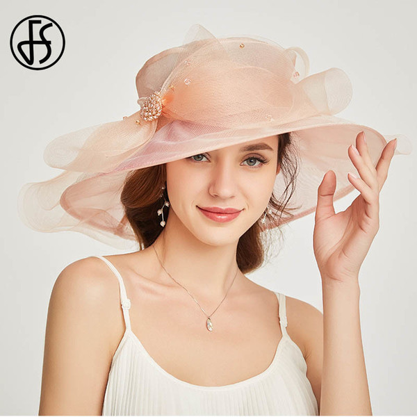 Light Pink Sun Hat