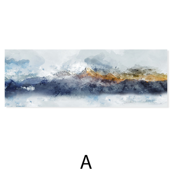 Montagne-90x25cm No Frame