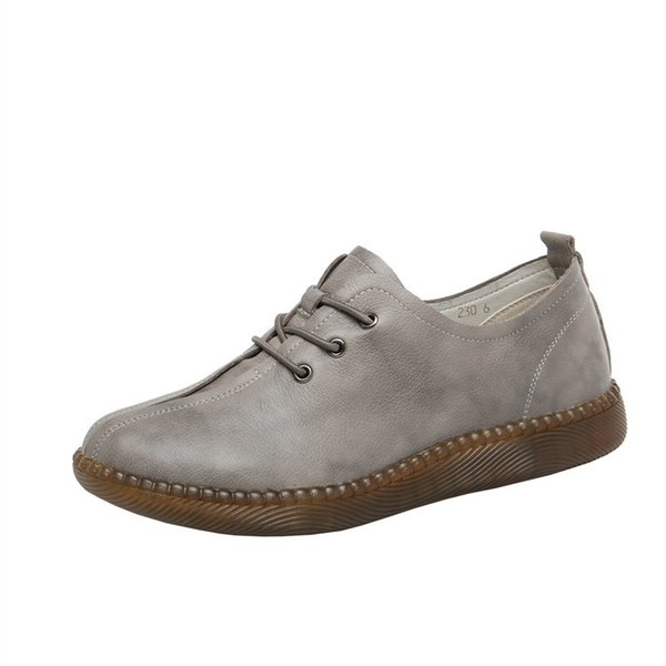 chaussures simples gris