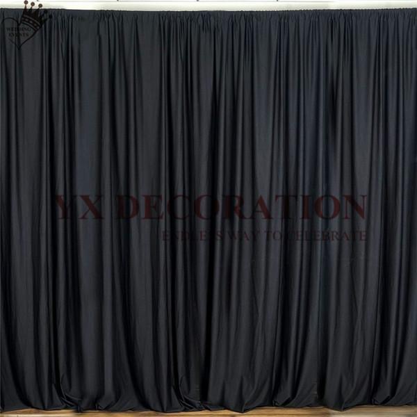 3m negro W x 3 m de altura