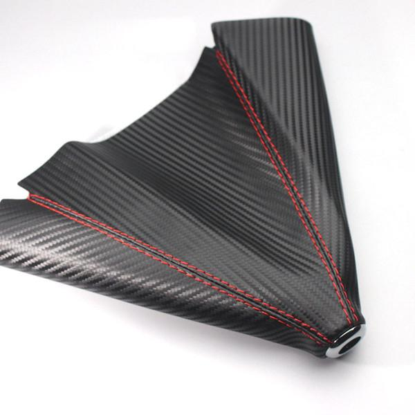 Carbon fiber leather