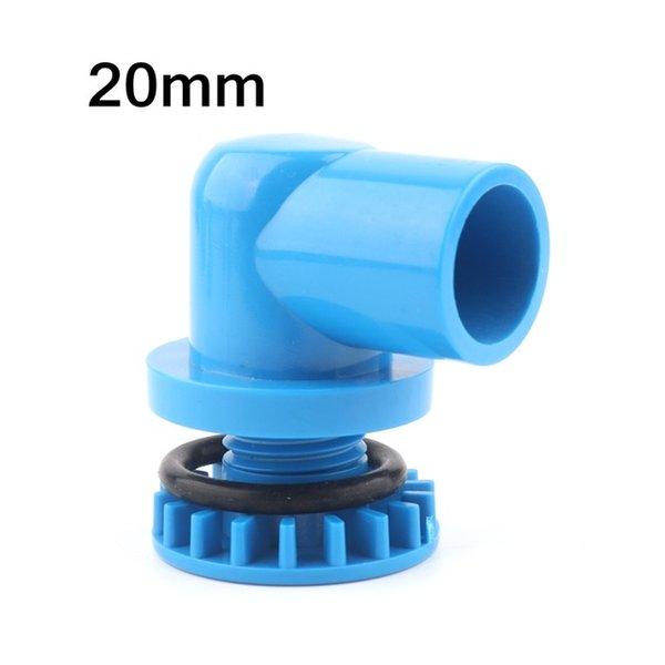 Farbe: 20mm Elbow (blau)