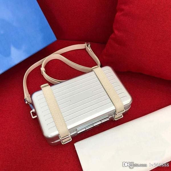 best selling Luxury designer shoulder bag luxury handbag leather mobile designer bag cross-body joint global limited small suitcase 133-27
