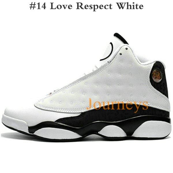 #14 Love Respect White