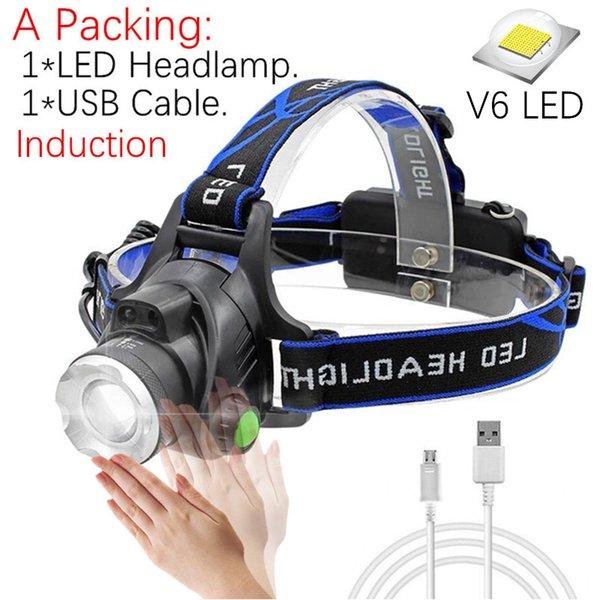 A Packing -V6 LED No Battery