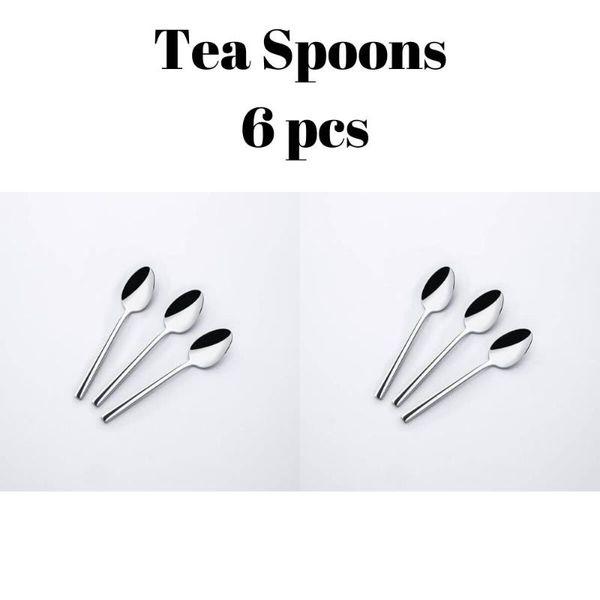 1 té Cucharas 6 piezas