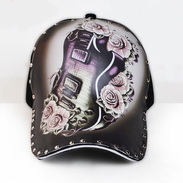 3D Gitar Cap