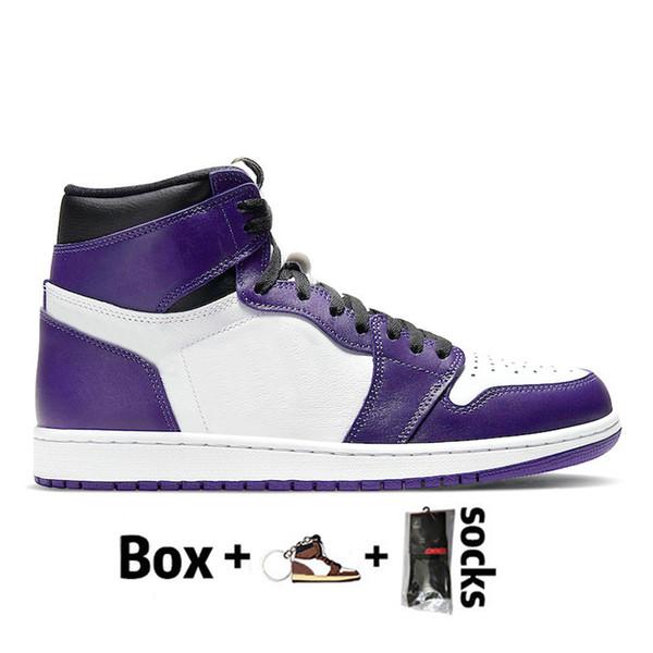 D11 36-46 Court Purple