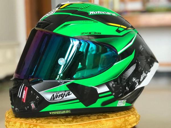 best selling special price 2020 new ZX full face helmet ZX10 RR kawa motorcycle Casque helmet