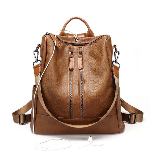 Brown (double zip)