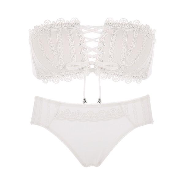 White Bra Set