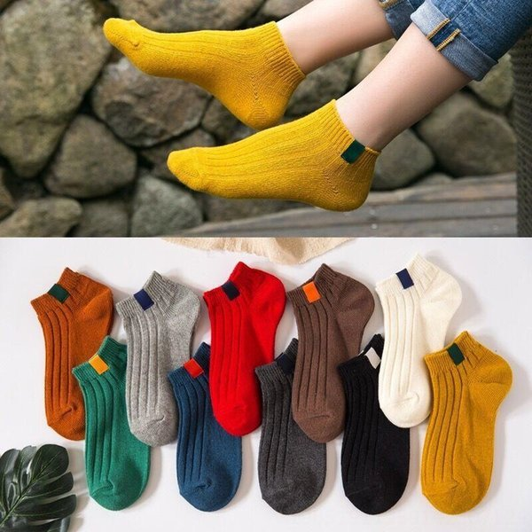 5 пар корейского стиля Пара носков