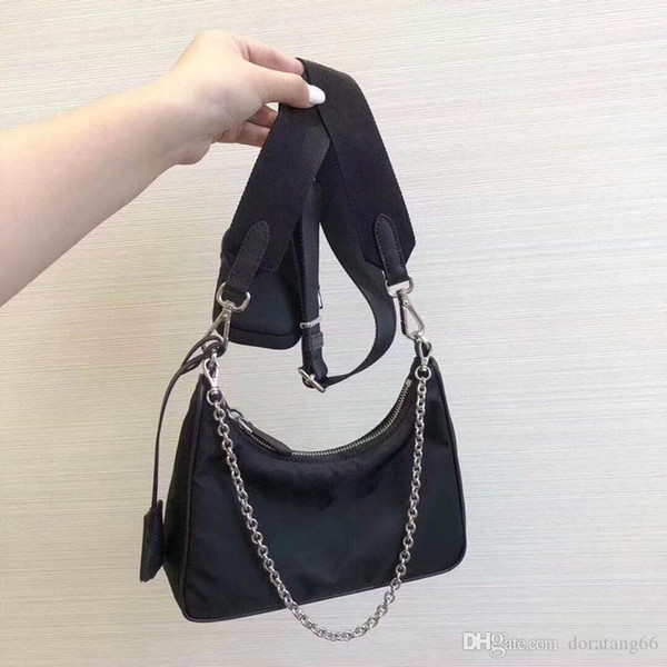 top popular Best selling Famous Brand Fashion Bag for Men and Women Wholesale Cross-body Nylon Bag with Small Coin Wallet women shoulder bag 2020