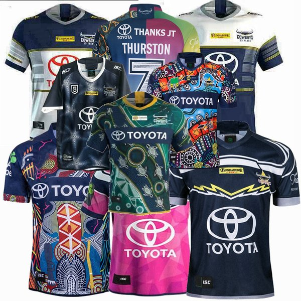 top popular 2018 2019 2020 2021 Cowboys souvenir edition rugby Jerseys NRL Rugby League jersey Cowboy 19 20 21 shirts 2020