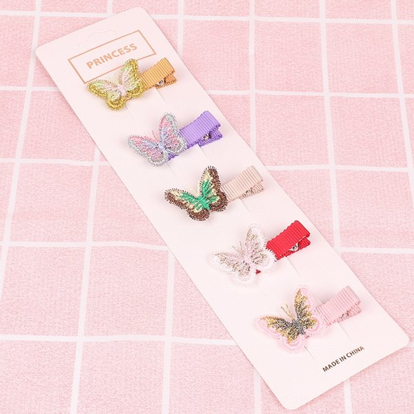 Delicate butterfly style
