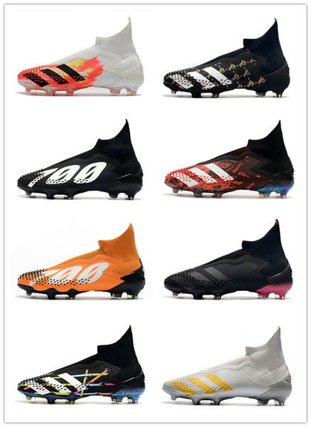 best selling Predator Mutator 20+ FG soccer shoes sneakers football cleats boots youth kids men women trainers cleat boot sneaker trainer with box