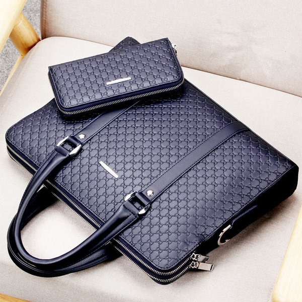 Blue with Wallet-For 15.6-inch laptop