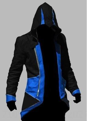 Noir et bleu Assassin # 039; s Creed