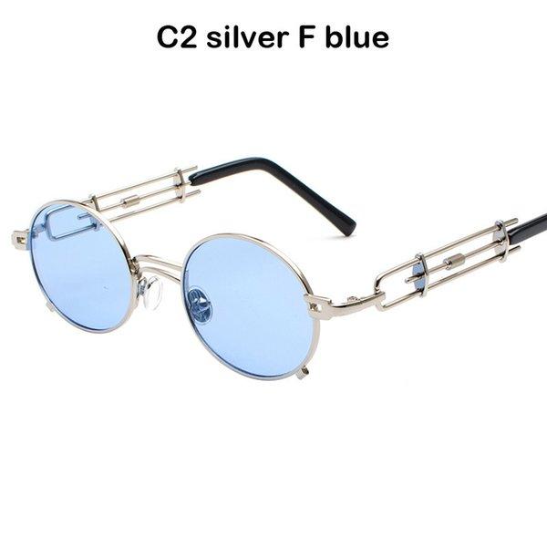 C2 prateado F azul