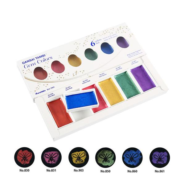 Colores de la gema