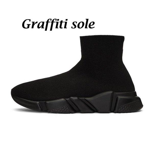 1 graffiti noir