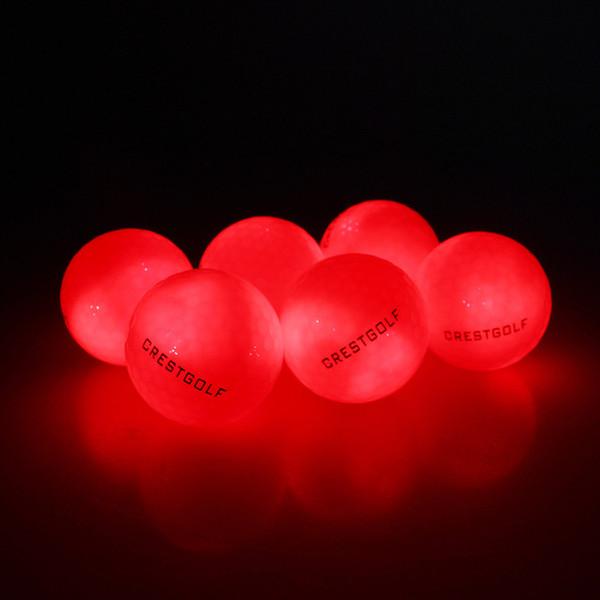 red golf balls