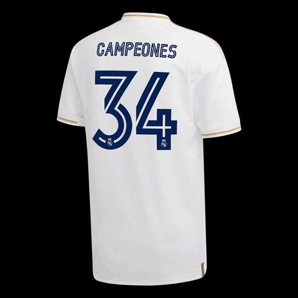 19/20 CAMPEONES 34th personalizzato