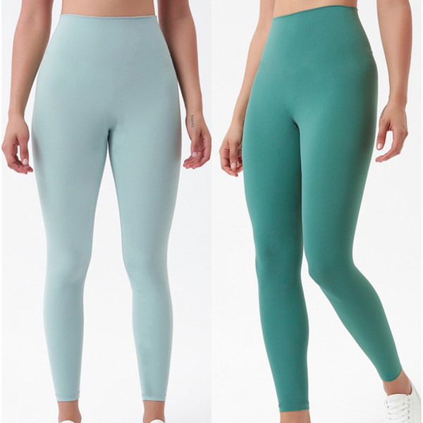 top popular Fitness Athletic Yoga Pants Women Girls High Waist Running Yoga Outfits Ladies Sports Leggings Ladies Camo Pants Workout 2020