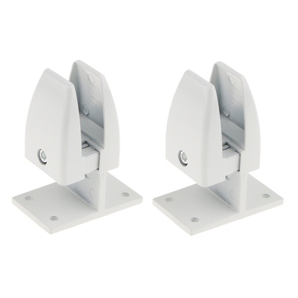 best selling 2Pcs Office Partition Bracket Cubicle Clips Office Divider Clip Accessories