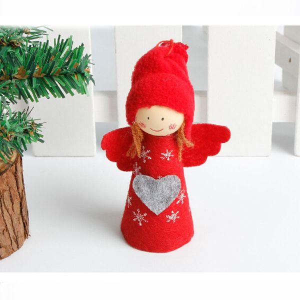 Copo de nieve rojo