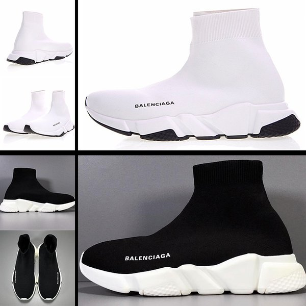 top popular 2020 simple air cushion socks shoes men's and women's running shoes wear-resistant non-slip bottom high elastic knitted surface breathable s 2020