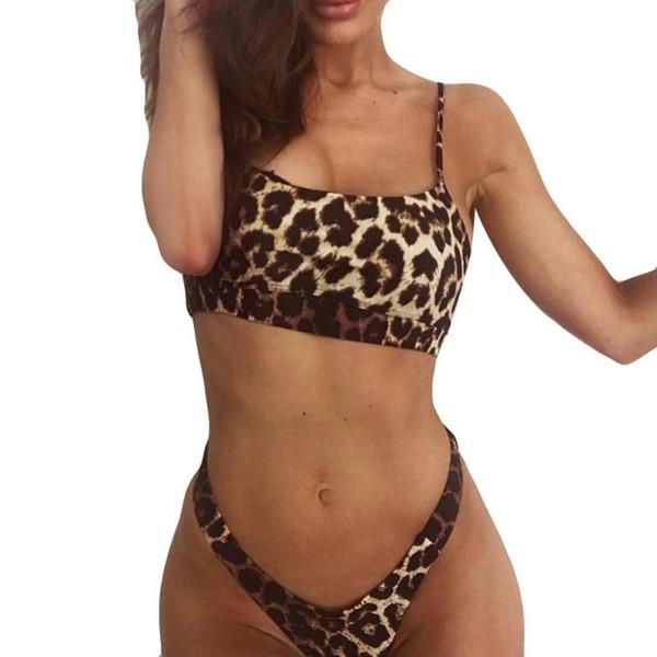 top popular Women Fashion Push-Up Padded Bra Beach Set Condole belt vest 2-12 2021