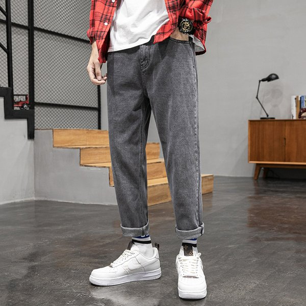 dunkelgrau Jeans