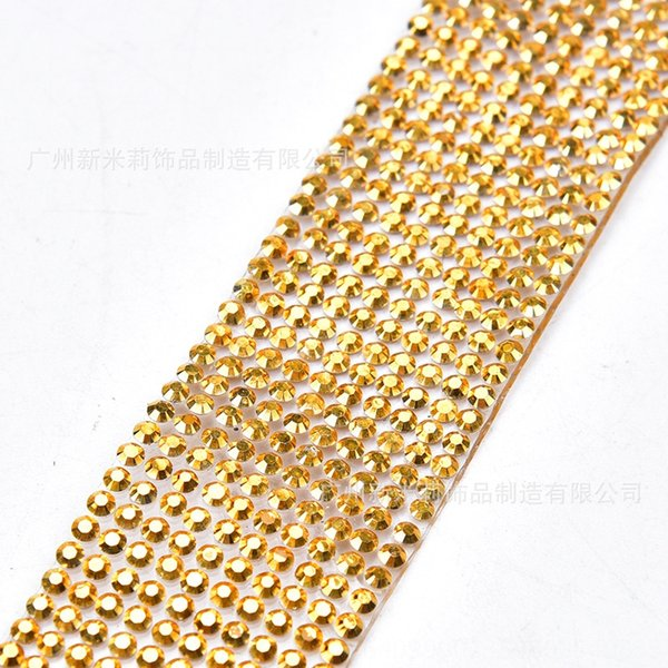 10 rows of 1-meter mine gold (2cm wide)