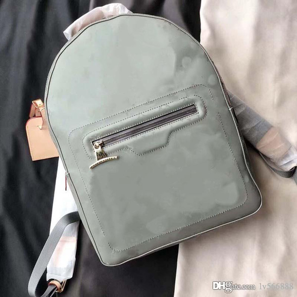 top popular Hot Sell Luxury designer leather new backpack men's backpack handbag ladies handbag men's backpack travel tote 43882-36 2020