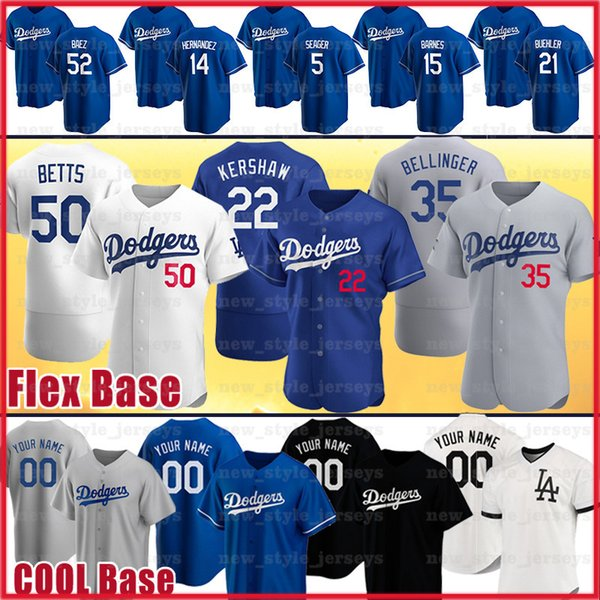 best selling 22 Clayton Kershaw Jersey Mookie Betts Cody Bellinger Chris Taylor Enrique Hernandez Corey Seager Justin Turner Baseball Jerseys