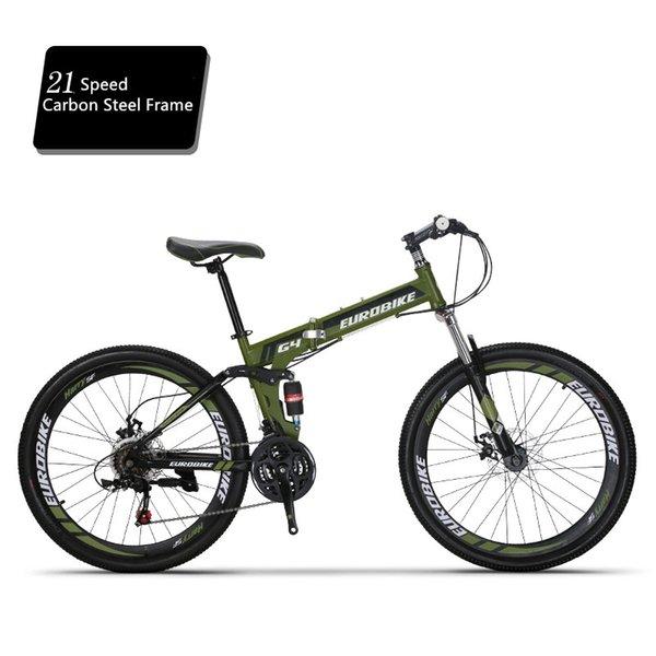 21 Speed A green