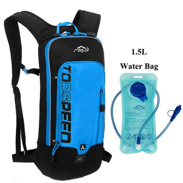 BL con bolsa de agua