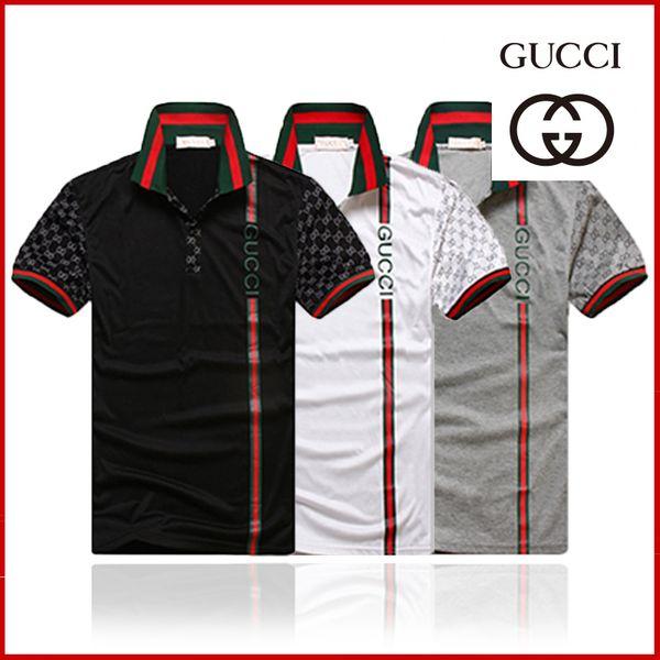 top popular Brand new Hip Hop winter men's t-shirt Short Sleeve 100% Cotton poloshirt shirt men teel hip 3g Designer mens g t shirts 302 2020