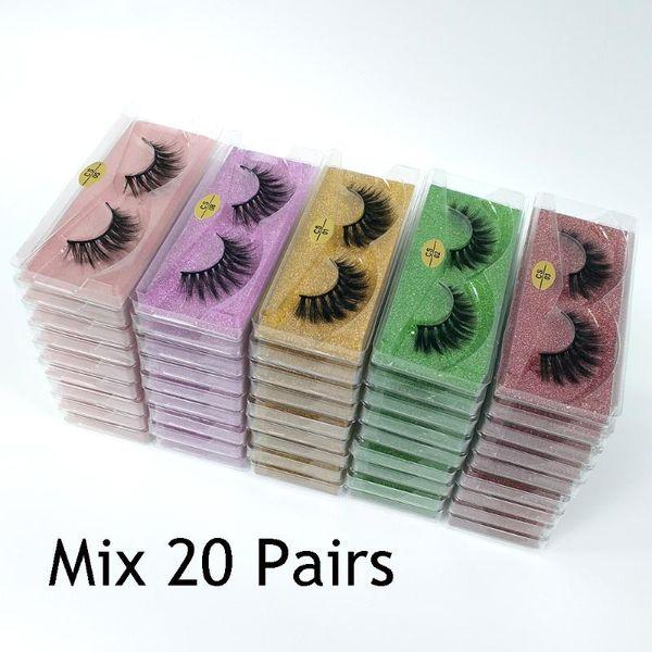 Mélanger 20 paires