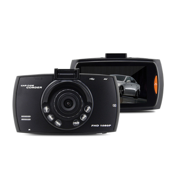 top popular 100PCS 2.4 Inch Car Electronics Driving recorder Car DVR Camera G30 Full HD 1080P 140 Degree Dashcam Video Registrars for Cars Night Vision 2021