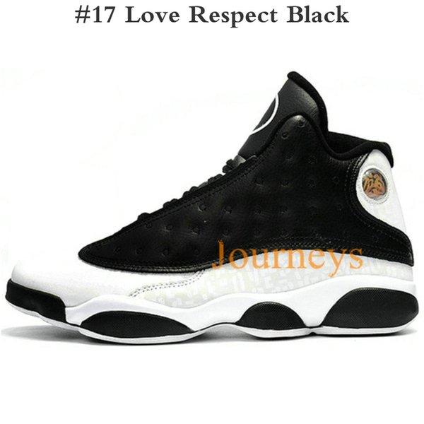 #17 Love Respect Black