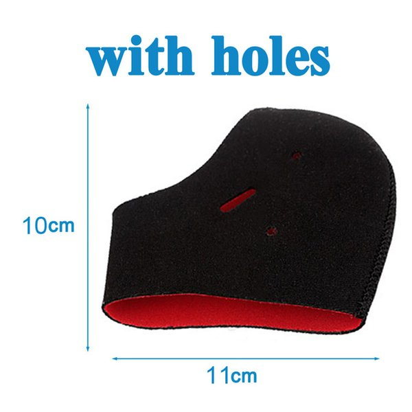 With holes