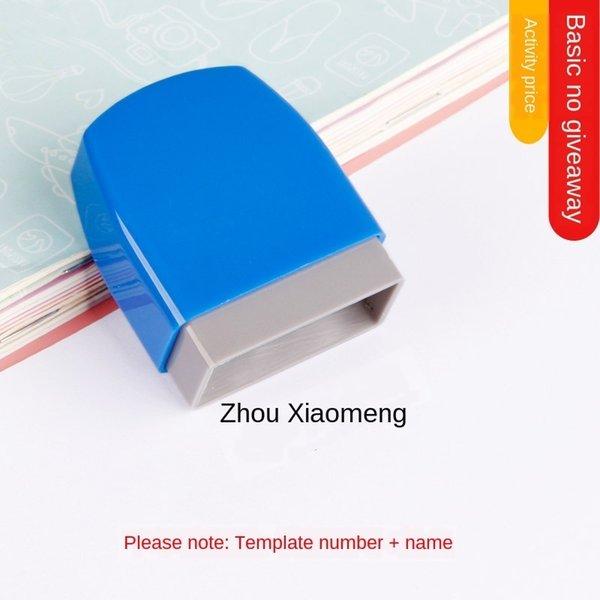 blau Shell (1 x 3 cm) grundlegender Stil