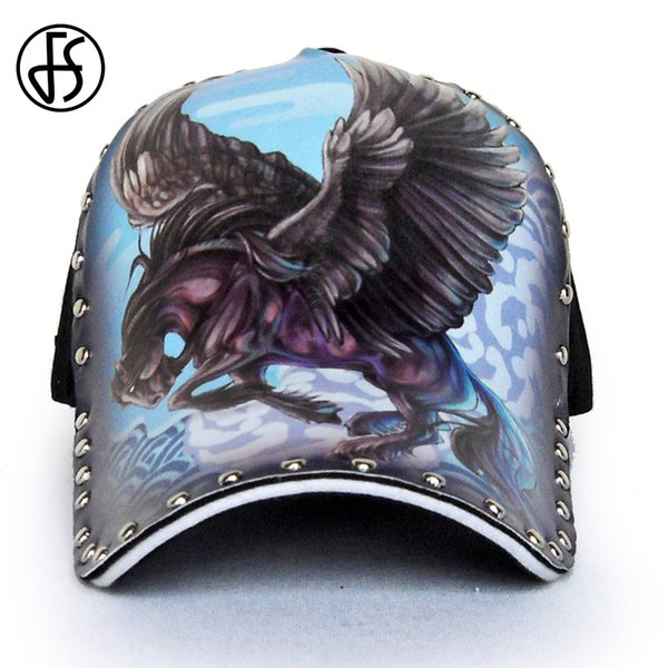3D Pegasus Cap