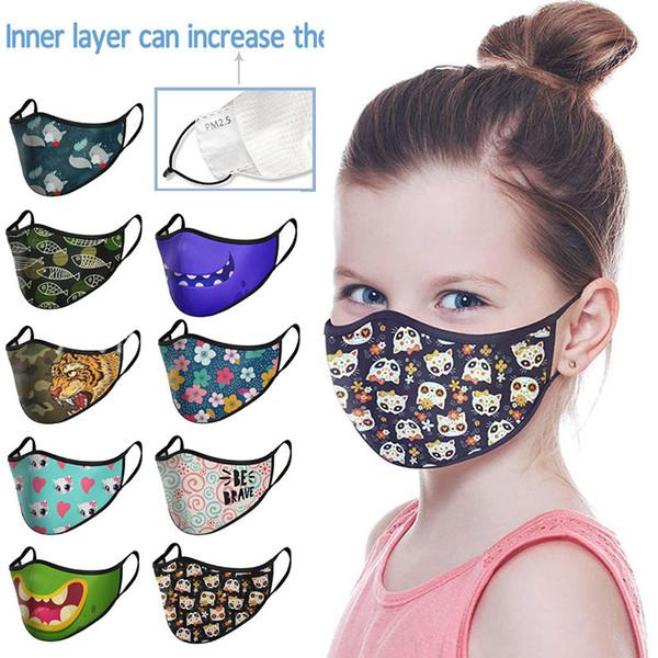 Kinder Bunte Mask