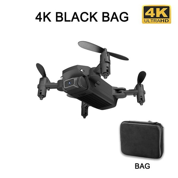 4K black bag